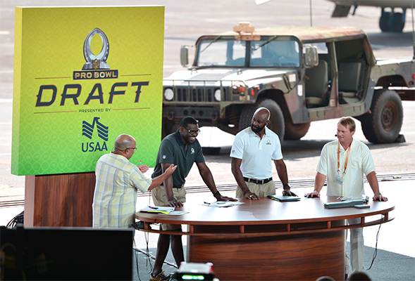 Custom-designed Set Design for NFL Pro Bowl